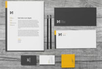 Chroma – Stationery Template | Stationery Templates Throughout Best Business Card Letterhead Envelope Template