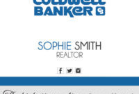 Coldwell Banker Business Cards 27 | Coldwell Banker for Coldwell Banker Business Card Template