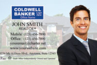 Coldwell Banker Business Cards, Designs, Logo, Templates pertaining to New Coldwell Banker Business Card Template