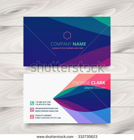 Colorful Purple Stylish Business Card Template Design with regard to Quality Web Design Business Cards Templates