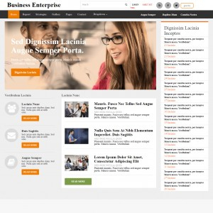 Company Profile Bootstrap Template inside Business Profile Template Free Download
