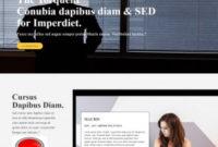 Company Profile Bootstrap Template with regard to Company Profile Template For Small Business