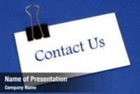 Contact Powerpoint Templates – Contact Powerpoint with regard to Business Card Template Powerpoint Free