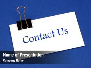 Contact Powerpoint Templates - Contact Powerpoint with regard to Business Card Template Powerpoint Free