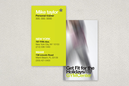 Contemporary Fitness Club Business Card Template | Inkd Throughout New Front And Back Business Card Template Word