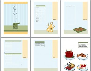 Cookbook Template | Recipe Book Template pertaining to Best Word 2013 Business Card Template