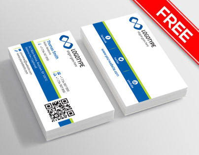 Corporate Business Card (Free) On Behance inside Photoshop Business Card Template With Bleed