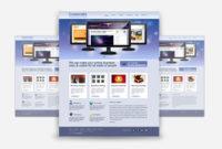 Corporate/Business Photoshop (.Psd) Website Template inside Free Psd Website Templates For Business