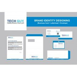 Corporate Identity Designing (Business Card + Letterhead pertaining to Best Business Card Letterhead Envelope Template