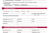 Corporate Resolution Identifying Authorized Signers – Fill throughout Fresh Business Account Application Form Template