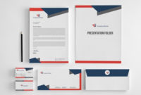 Corporate Stationery Design Templateowpictures On Dribbble Pertaining To Business Card Letterhead Envelope Template