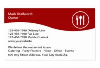 Courier Business Cards, 262 Business Card Templates with regard to Food Business Cards Templates Free