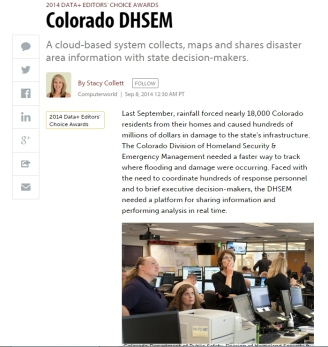 Coverage Of The Case Of Colorado Dhsem In Computerworld. regarding Business Intelligence Templates For Visual Studio 2010