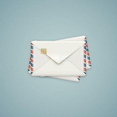 Create A Detailed Envelope Illustration In Adobe Illustrator regarding Business Envelope Template Illustrator