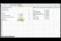 Create A Simple Balance Sheet – Youtube | Excel Tutorials throughout Business Balance Sheet Template Excel