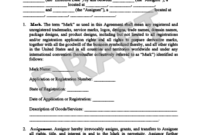 Create A Trademark Assignment Agreement | Legal Templates with regard to Fresh Transfer Of Business Ownership Contract Template