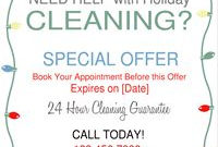 Create Amazing Flyers For Your Cleaning Business pertaining to Best Flyers For Cleaning Business Templates
