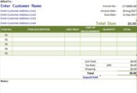 Create Invoice Template With Automated Numbering In Excel regarding Best Business Invoice Template Uk