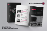 Creative Company Proposal Indesign Corporate Identity Template pertaining to Business Proposal Indesign Template