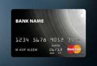 Credit Card Template (Psd) Clipart Picture Free Download with Quality Business Card Size Psd Template