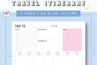 Cruise Planner Travel Agenda Cruise Itinerary Template throughout Unique Sample Business Travel Itinerary Template