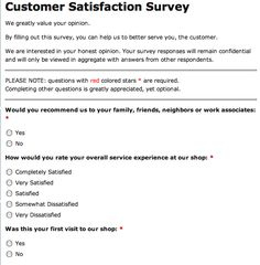 Customer Feedback Form Template | Microsoft Templates for New Customer Business Review Template