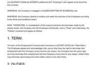 Customizable Contract Templates [200+ Free Examples inside Staffing Agency Business Plan Template