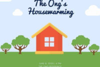 Customize 17+ Housewarming Invitations Templates Online throughout Business Open House Invitation Templates Free