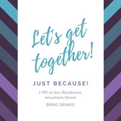Customize 31+ Get Together Invitations Templates Online within Best Save The Date Business Event Templates