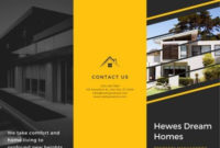 Customize 37+ Real Estate Brochures Templates Online - Canva within Real Estate Listing Presentation Template