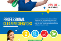 Customize 450+ Cleaning Service Flyer Templates | Postermywall within Best Flyers For Cleaning Business Templates