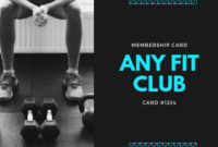 Customize 55+ Fitness Business Card Templates Online – Canva pertaining to Quality Business Plan Template For A Gym
