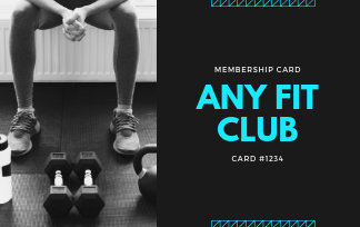 Customize 55+ Fitness Business Card Templates Online - Canva pertaining to Quality Business Plan Template For A Gym