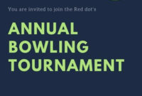 Customize 66+ Bowling Invitations Templates Online – Canva for Best Save The Date Business Event Templates
