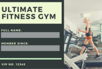 Customize 9,481+ Id Card Templates Online – Canva pertaining to Business Plan Template For A Gym