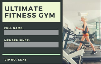 Customize 9,481+ Id Card Templates Online - Canva pertaining to Business Plan Template For A Gym