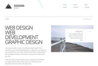 Designa 2.01 Free Website Template | Free Css Templates within Estimation Responsive Business Html Template Free Download