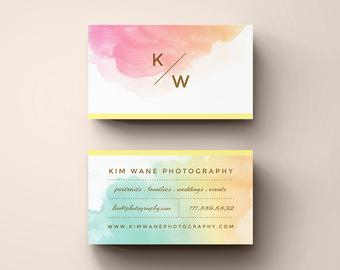 Diy Business Cards Instant Download Printable Contact Card for Free Template Business Cards To Print