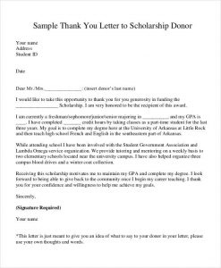 Donor Thank You Letter | Template Business intended for Business Donation Letter Template