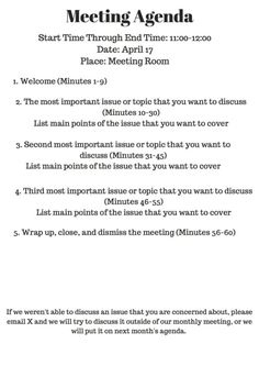 Download The Formal Meeting Minutes Template From Vertex42 within Unique Business Development Meeting Agenda Template