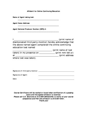 Editable Affidavit Of Domicile Merrill Lynch - Fill, Print inside Merrill Lynch Business Plan Template