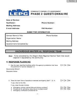 Editable Sample Contingency Plan For Fire - Fill Out Best for Fresh Business Requirements Questionnaire Template