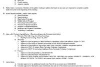Effective Board Meeting Agendas - Fill Out, Print pertaining to Sample Agenda Template For Board Meeting