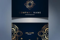 Elegant Business Card Design – Download Free Vector Art with regard to Email Business Card Templates