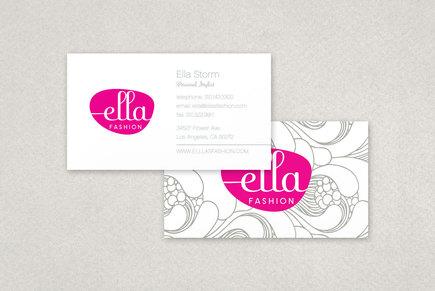 Ella Fashion Business Card Template | Inkd regarding Business Cards For Teachers Templates Free