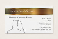 Employment Agency Business Cards & Templates   Zazzle within Best Staffing Agency Business Plan Template