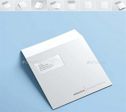 Envelope Mockup Psd Templates | Free And Premium 46+ Psd pertaining to Business Envelope Template Illustrator