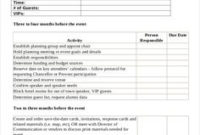 Event Planning Checklist Pdf | Ministry | Event Planning with regard to Wedding Venue Business Plan Template