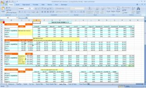 Excel Spreadsheet For Small Business Accounting - Laobing within Small Business Accounting Spreadsheet Template Free