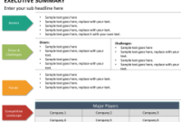 Executive Summary Powerpoint Template | Sketchbubble with Executive Summary Template For Business Plan